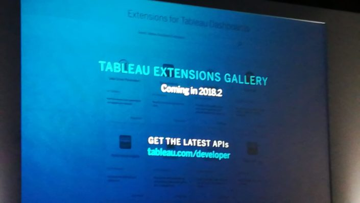 Tableau Extension API